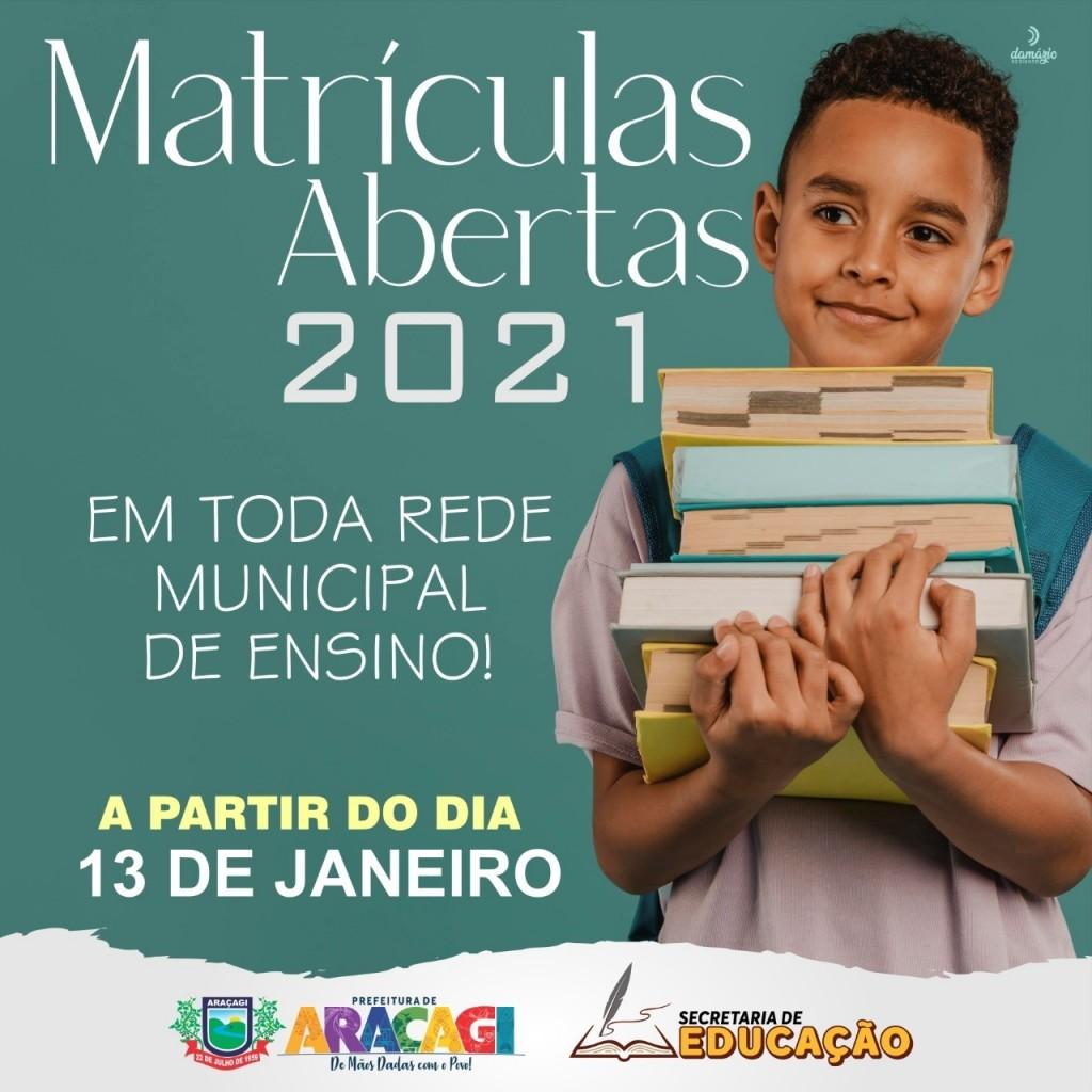 Rede municipal de ensino iniciam matriculas nessa quarta-feira (13)