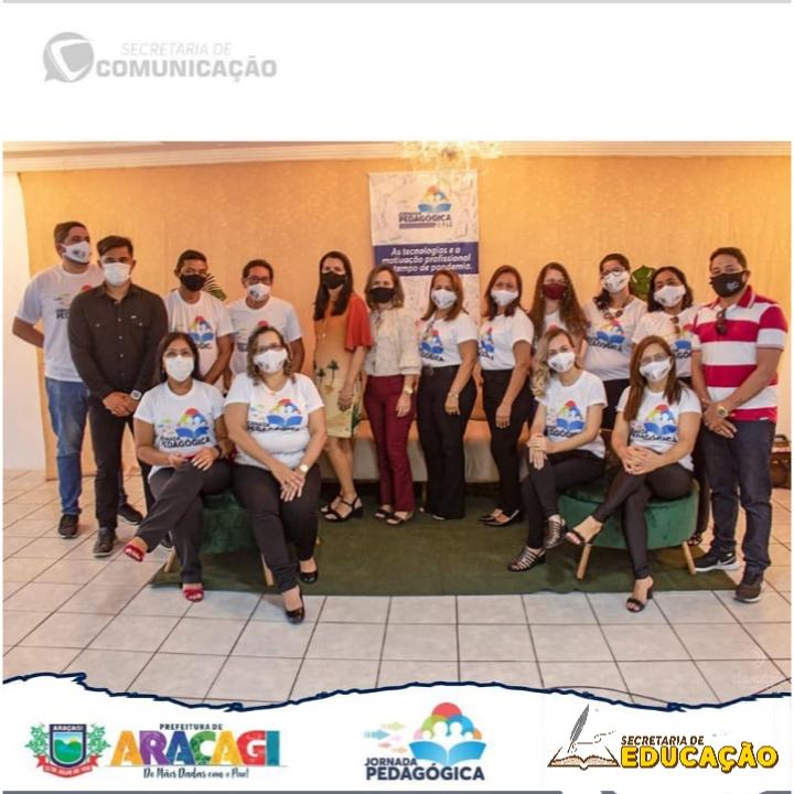 Secretaria de Educação realizou a 1ª Jornada Pedagógica do Município de Araçagi